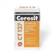 Белая финишная полимерная шпаклевка для внутренних работ Ceresit CT 127