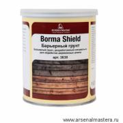 Барьерный грунт/антисептик для деревянных домов 1 л Borma Shield