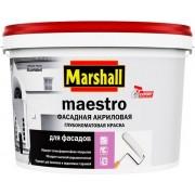 Краска Marshall Maestro Фасадная Акриловая