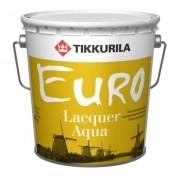 Лак Tikkurila Euro Aqua Полуглянцевый