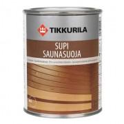 Защитный состав Tikkurila Supi Saunasuoja для защиты бани