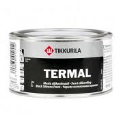 Краска Tikkurila Termal черная силиконовая