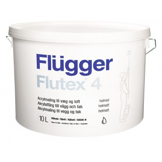 Краска Flugger Flutex 4 Plus Белая