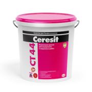 Акриловая краска для фасадов Ceresit CT 44